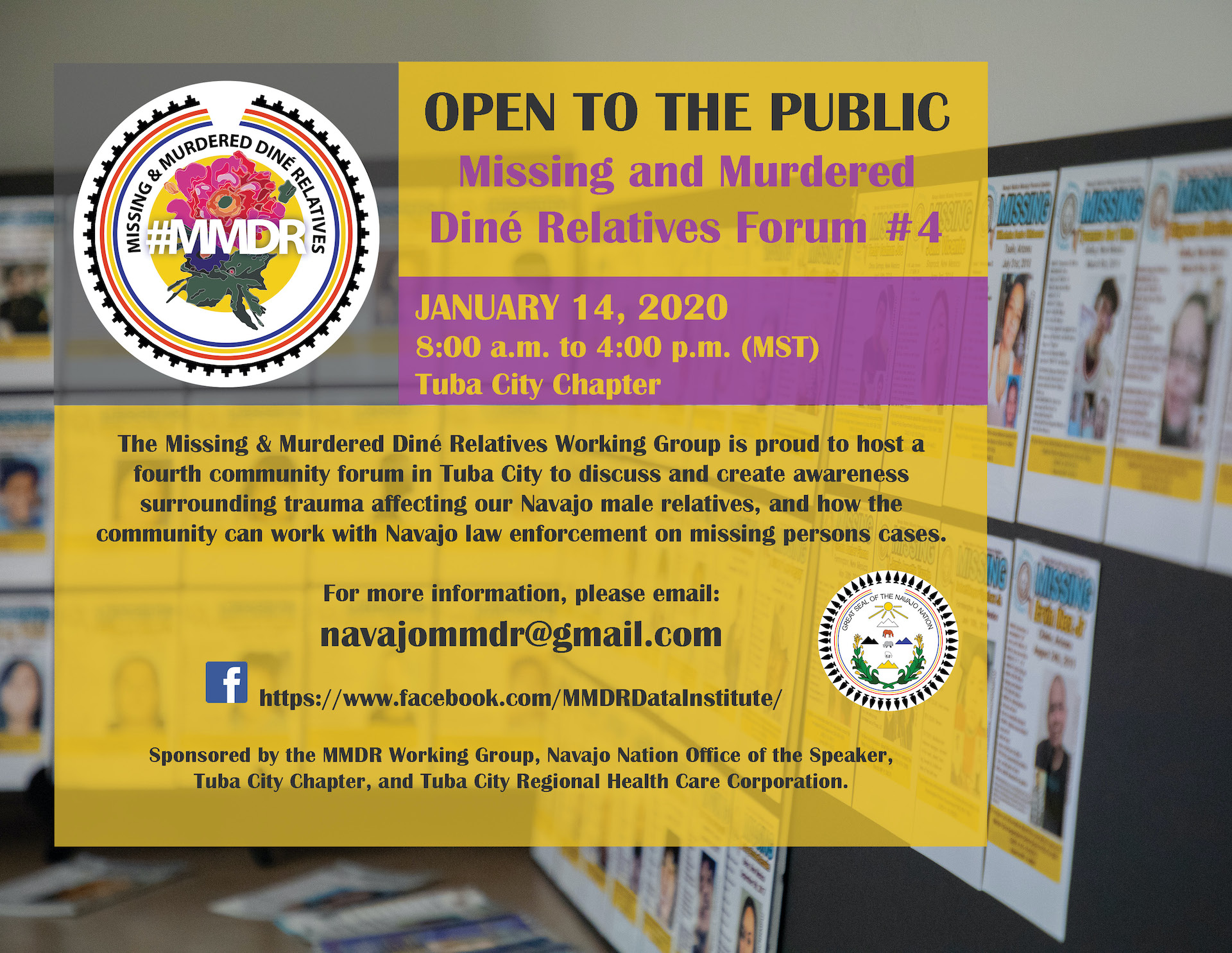 Forum for Missing and Murdered Diné Relatives set for Arizona