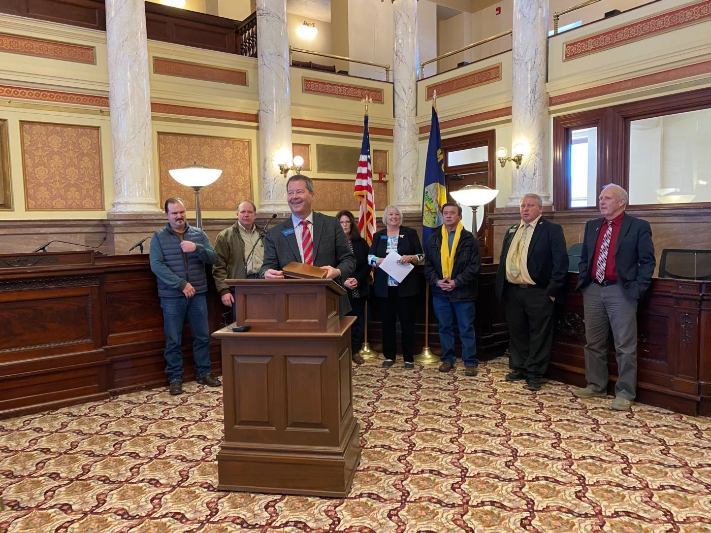 Olszewski and Republican cohort asks Daines to withdraw CSKT compact bill