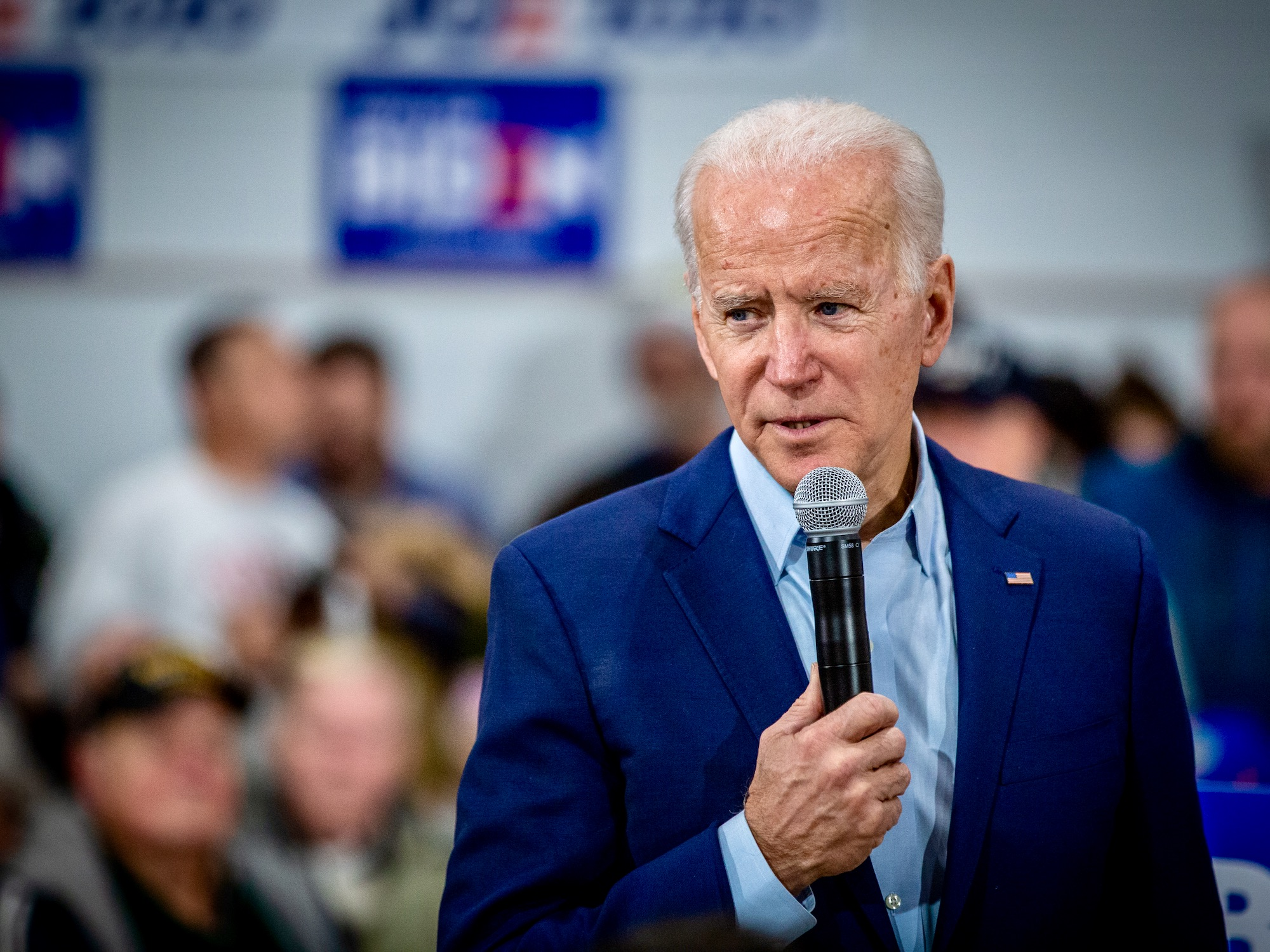 Joe Biden photo by Phil Roeder