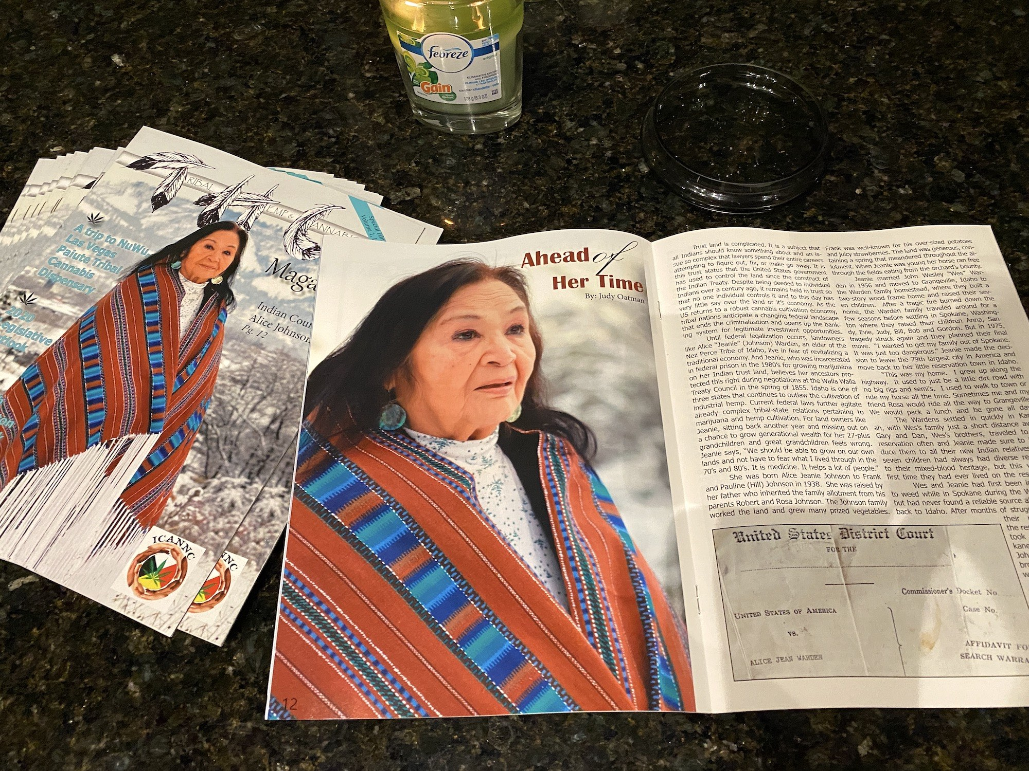 New magazine promotes hemp and cannabis in Indian Country