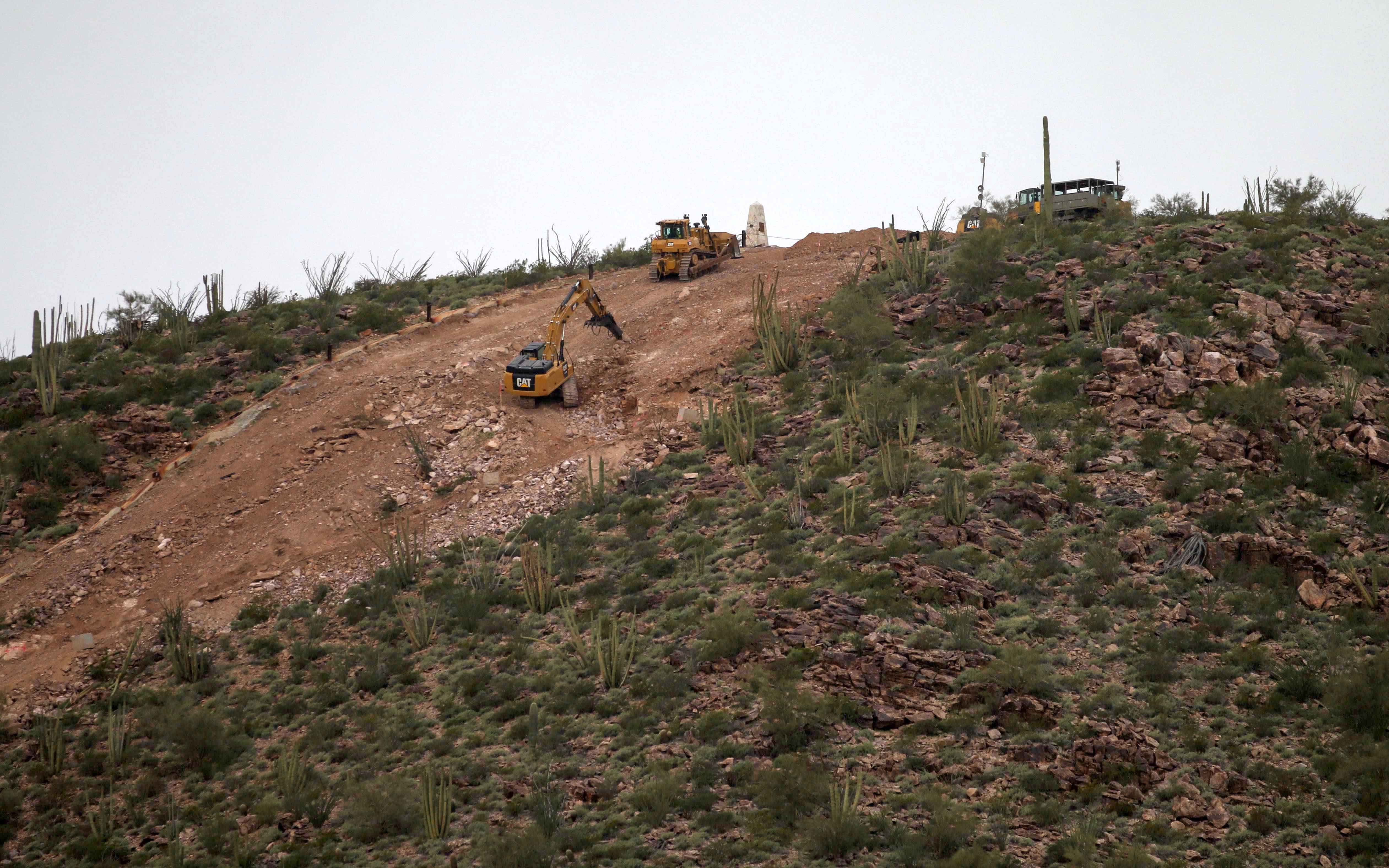 Leaders say border wall blasting typical of feds' neglect of tribes