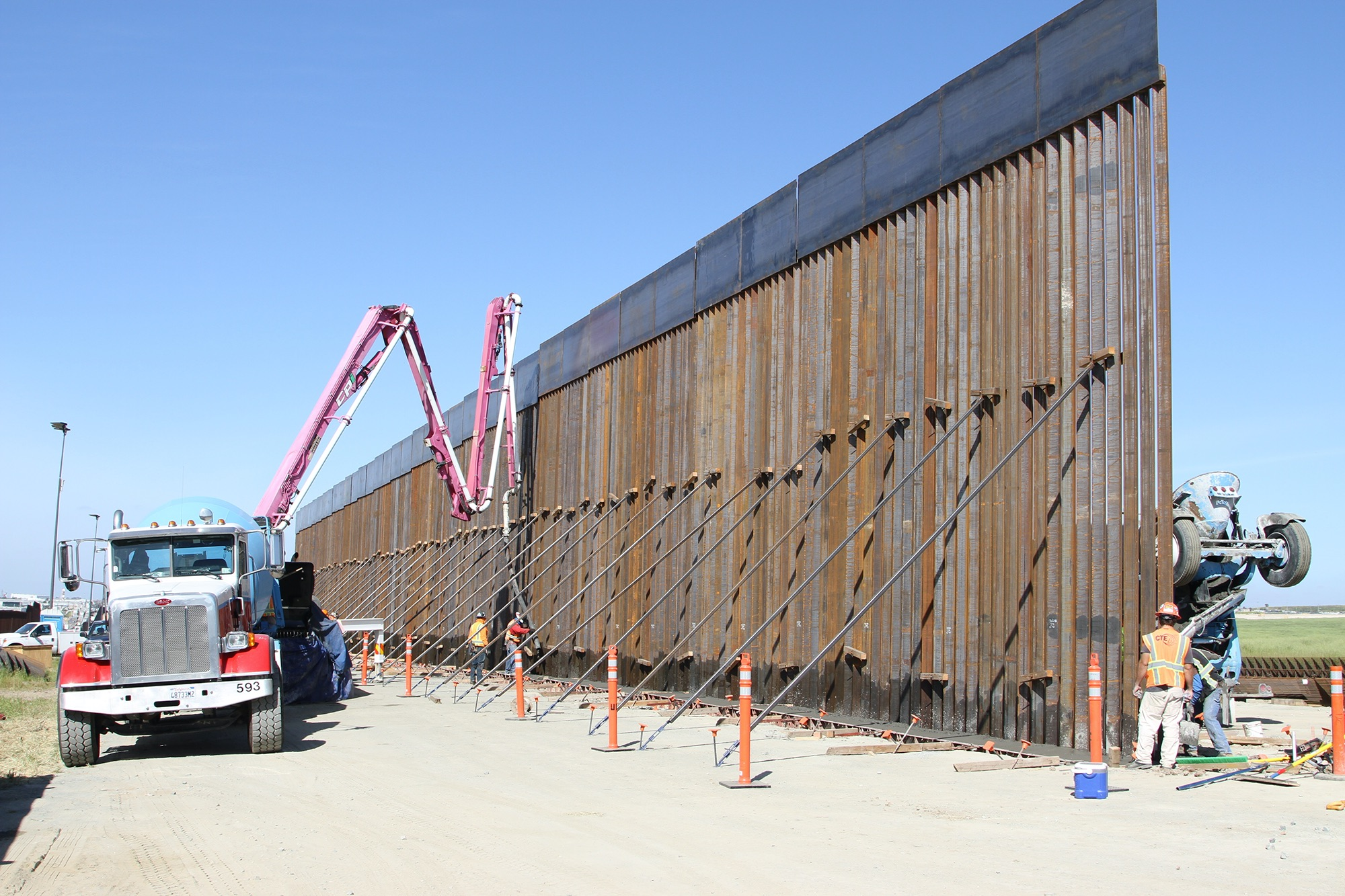 DHS waives more regulations to speed construction of border wall