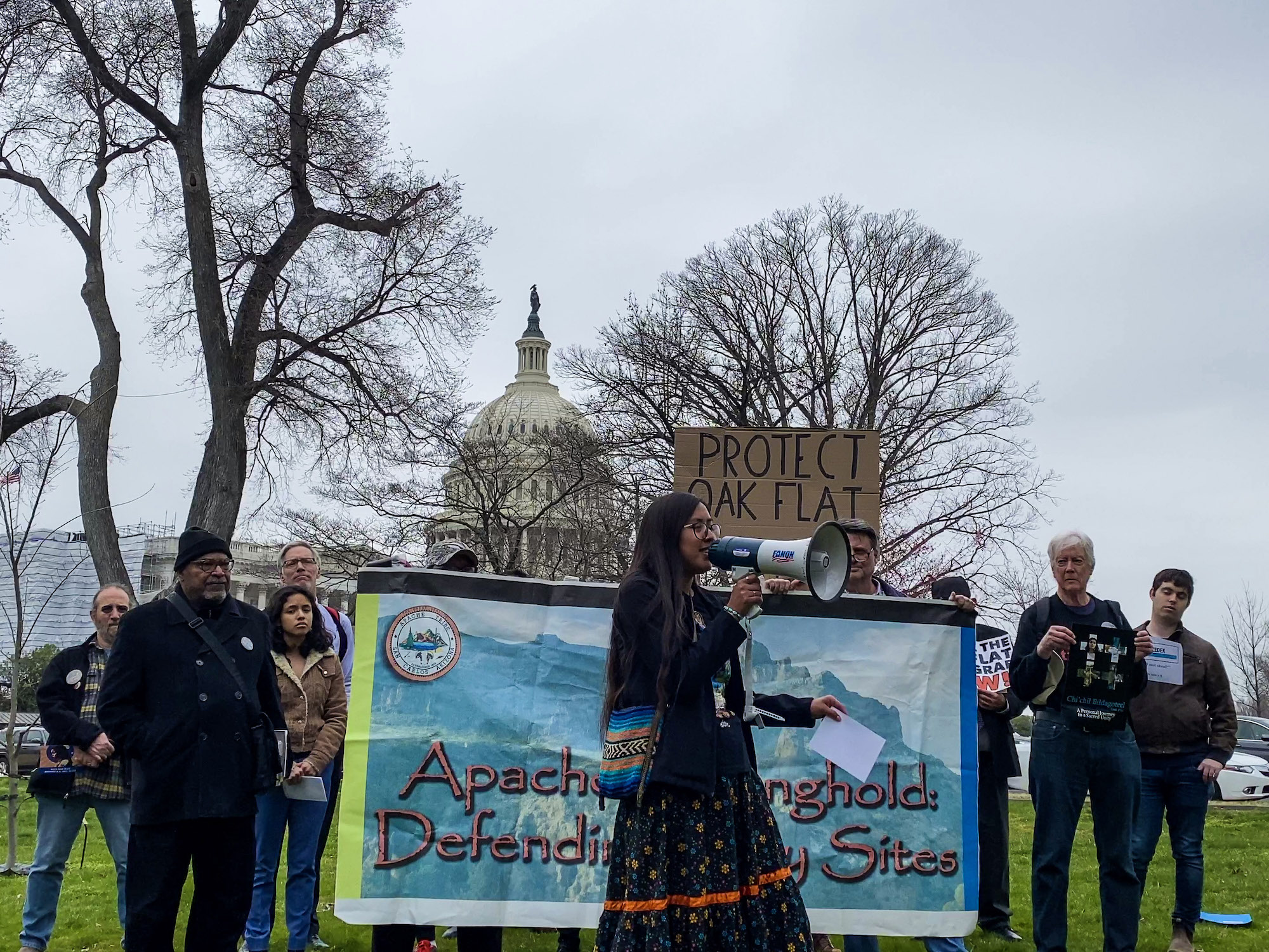 'The fight is here and now':  Sacred site debate returns to nation's capital amid familiar challenges