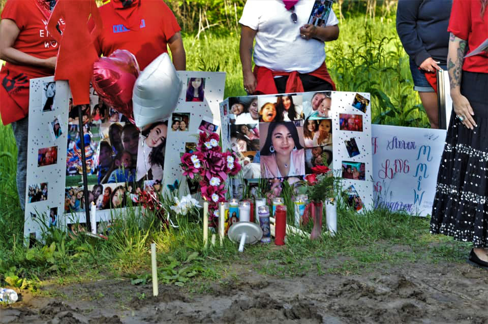 'Bring Kozee home': Vigil held for Native woman murdered on Winnebago Reservation