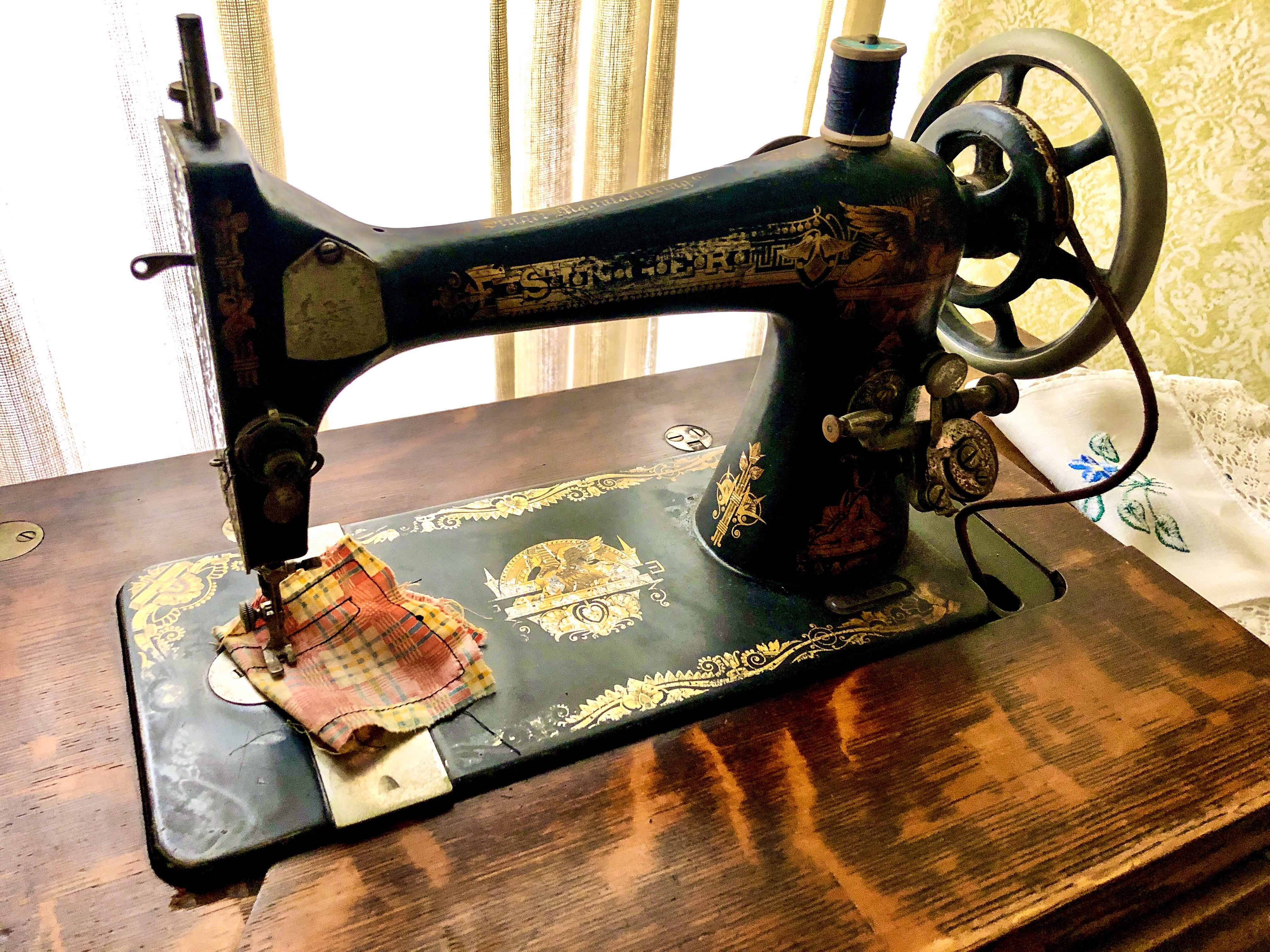 Arne Vainio: My grandmother's sewing machine