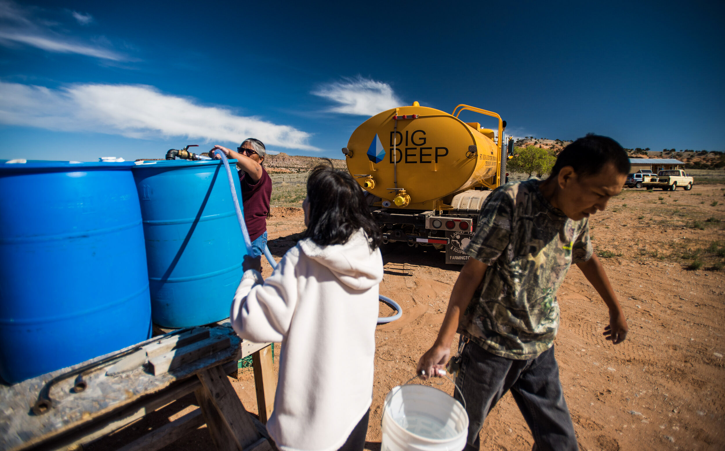 Cronkite News: Former NFL standout Chris Long helps bring Navajos much needed water