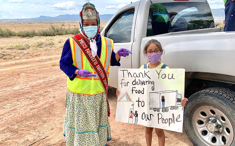 Miss Navajo Nation is a 'glimmer of hope' for her community during pandemic