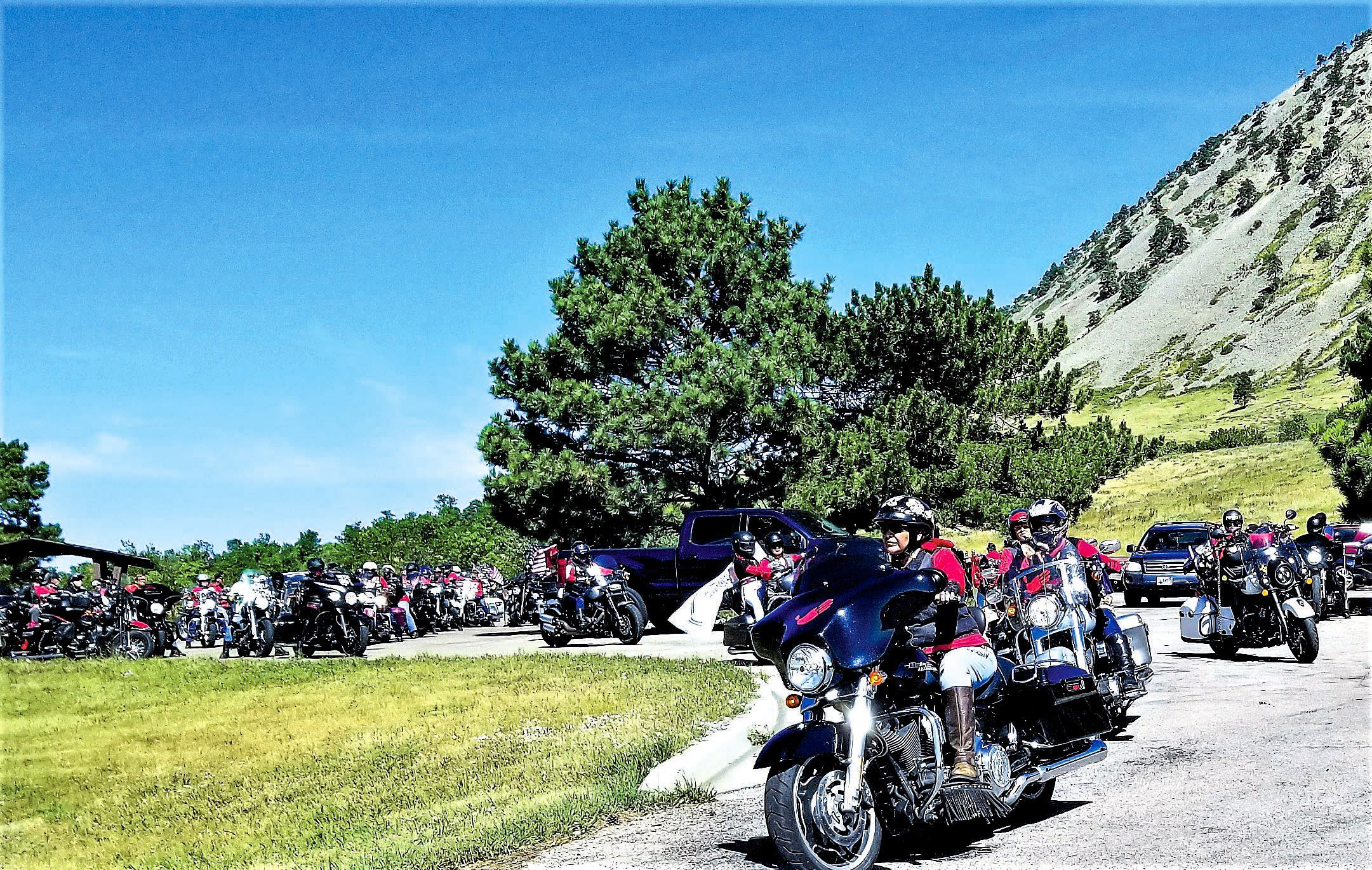 Native Sun News Today: Native women lead 70-mile ride