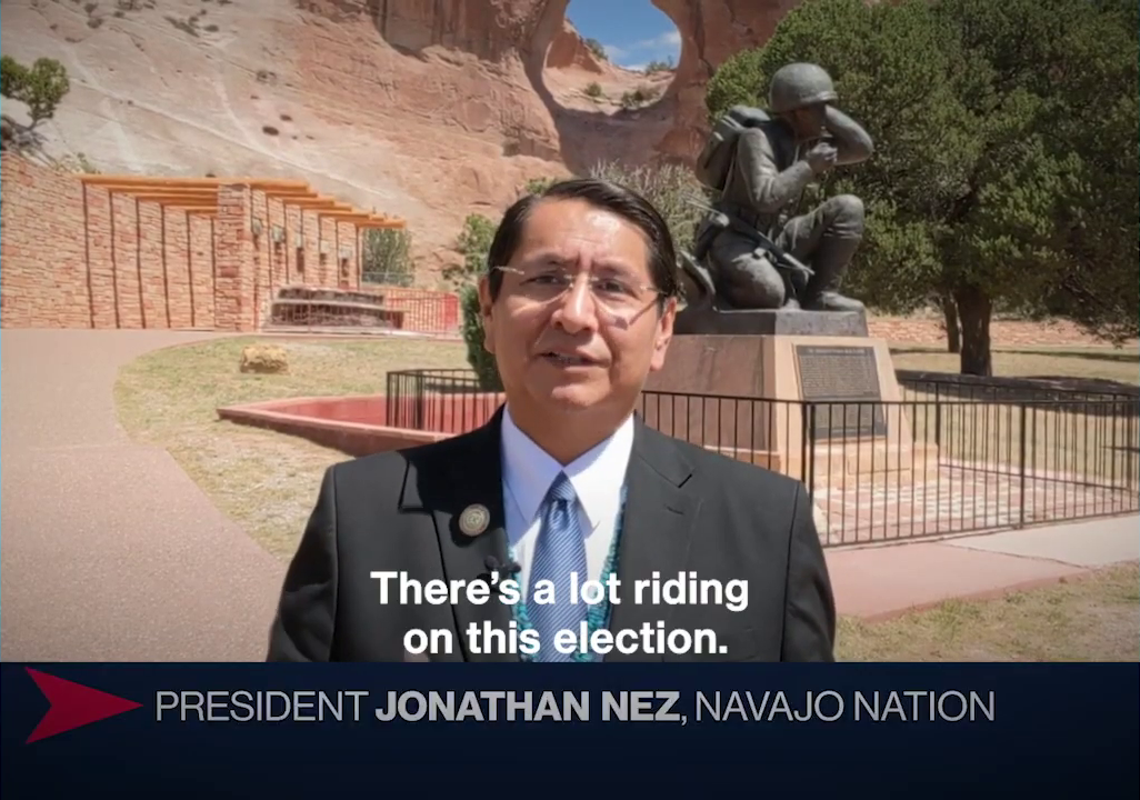 Cronkite News: Navajo president speaks at convention as one of Democrat's 'rising stars'