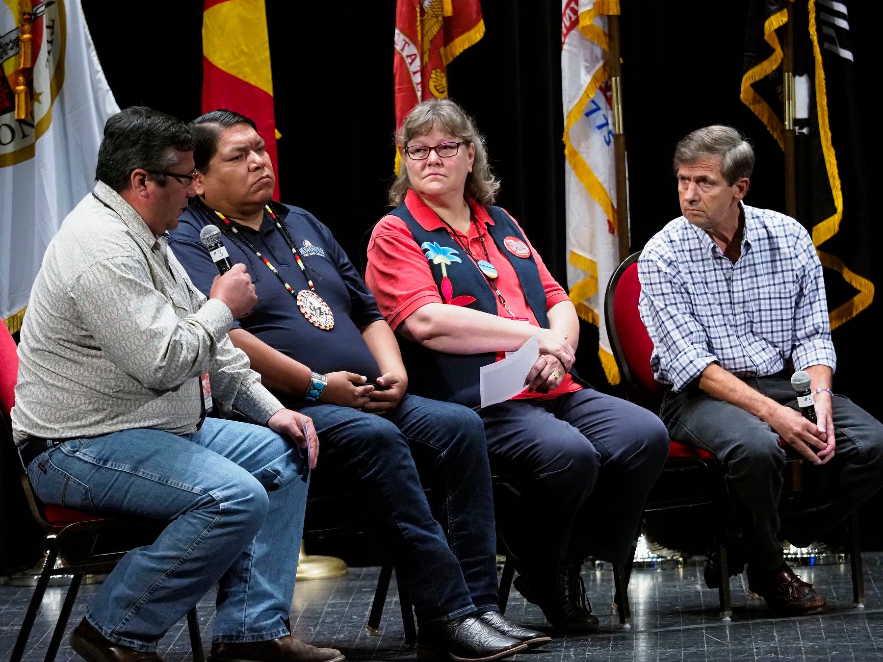 AUDIO/VIDEO: Joe Sestak at Frank LaMere Native American Presidential Forum