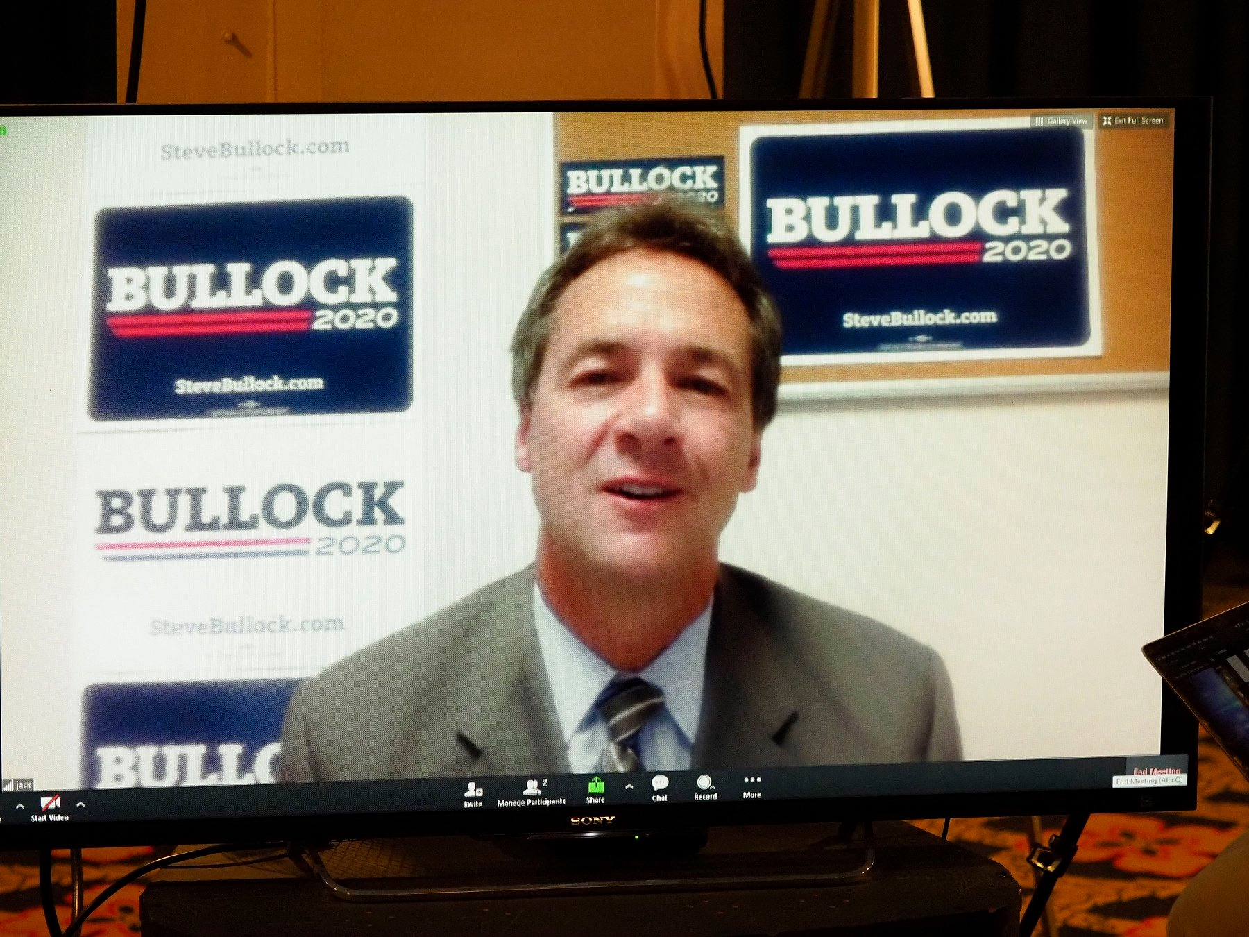 AUDIO/VIDEO: Steve Bullock at Frank LaMere Native American Presidential Forum