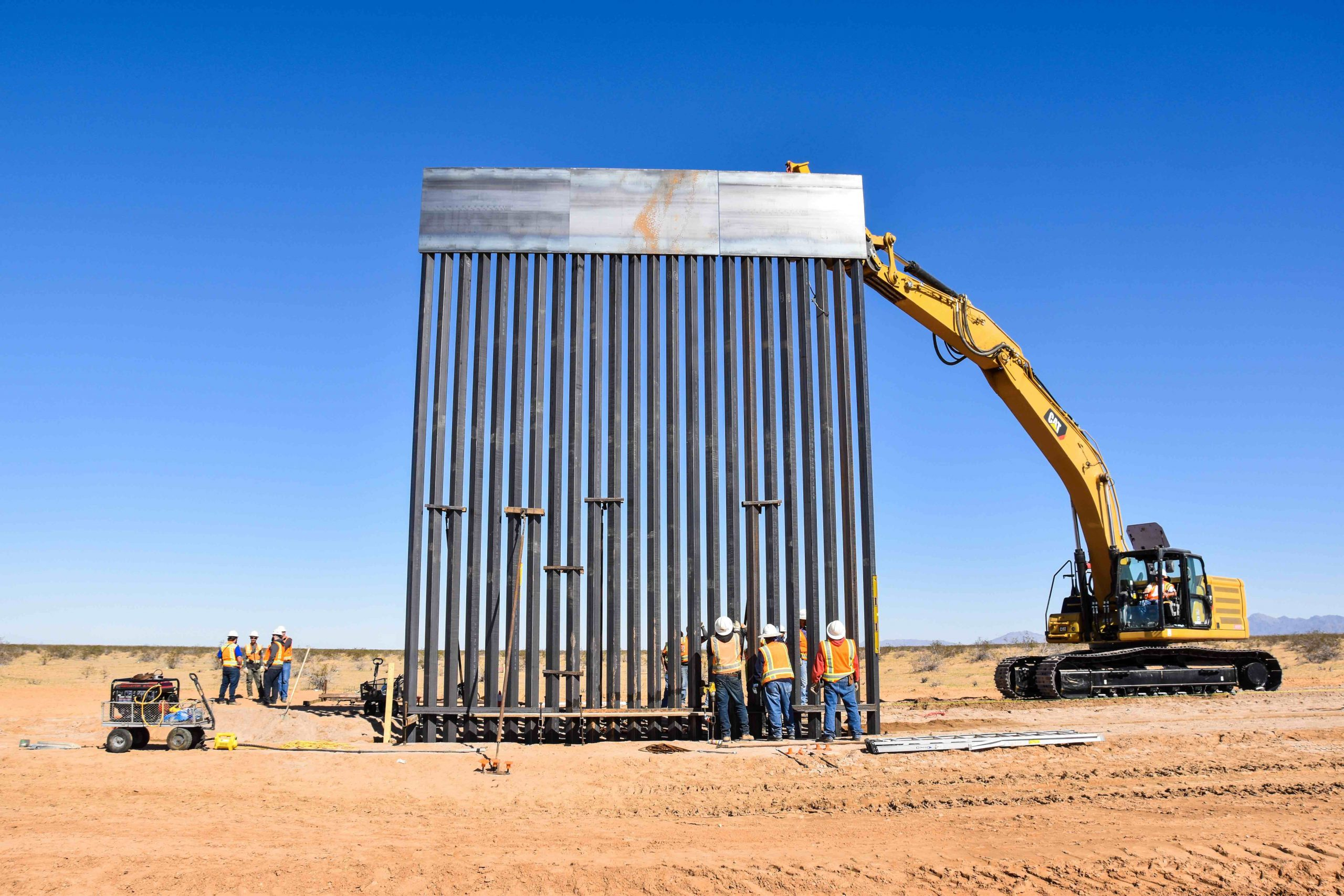 Border Barrier Construction, BMGR