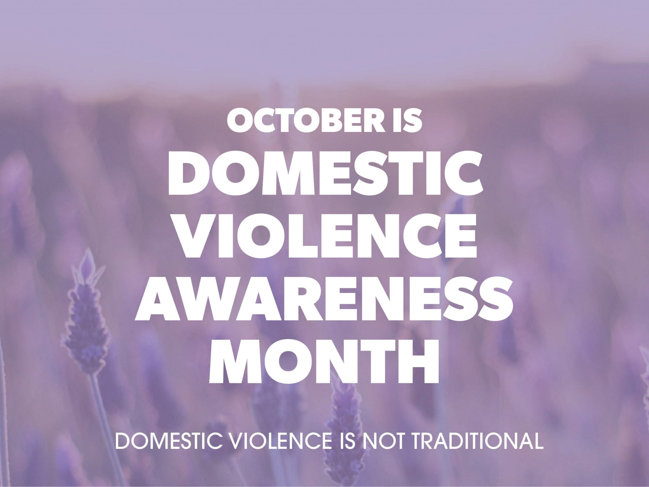 domesticviolenceisnottraditional