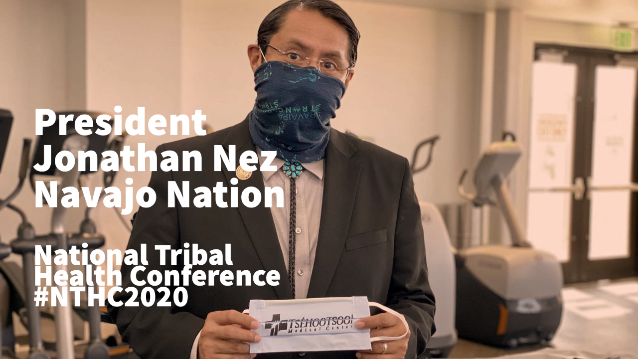 jonathan nez national tribal health conference