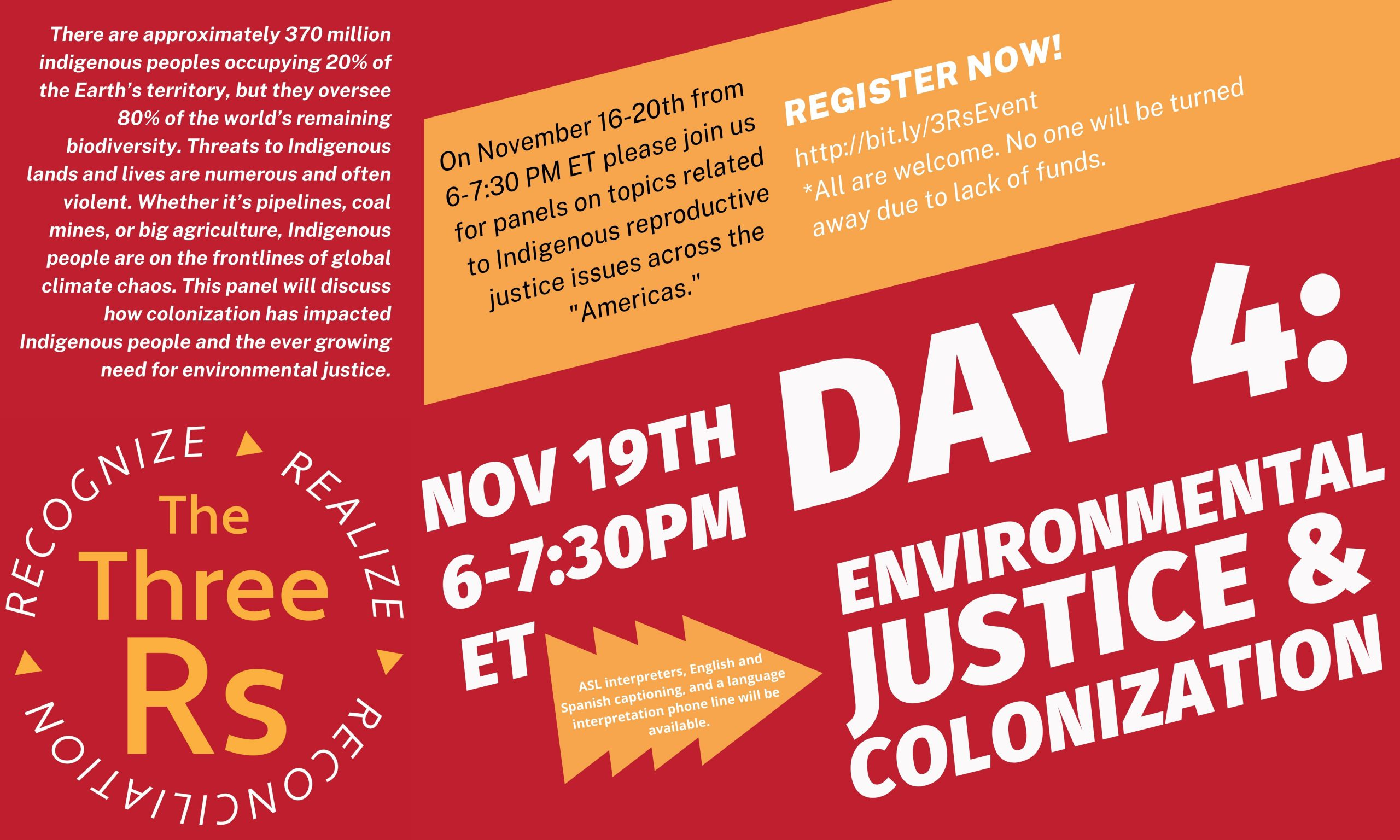 Environmental justice and colonization