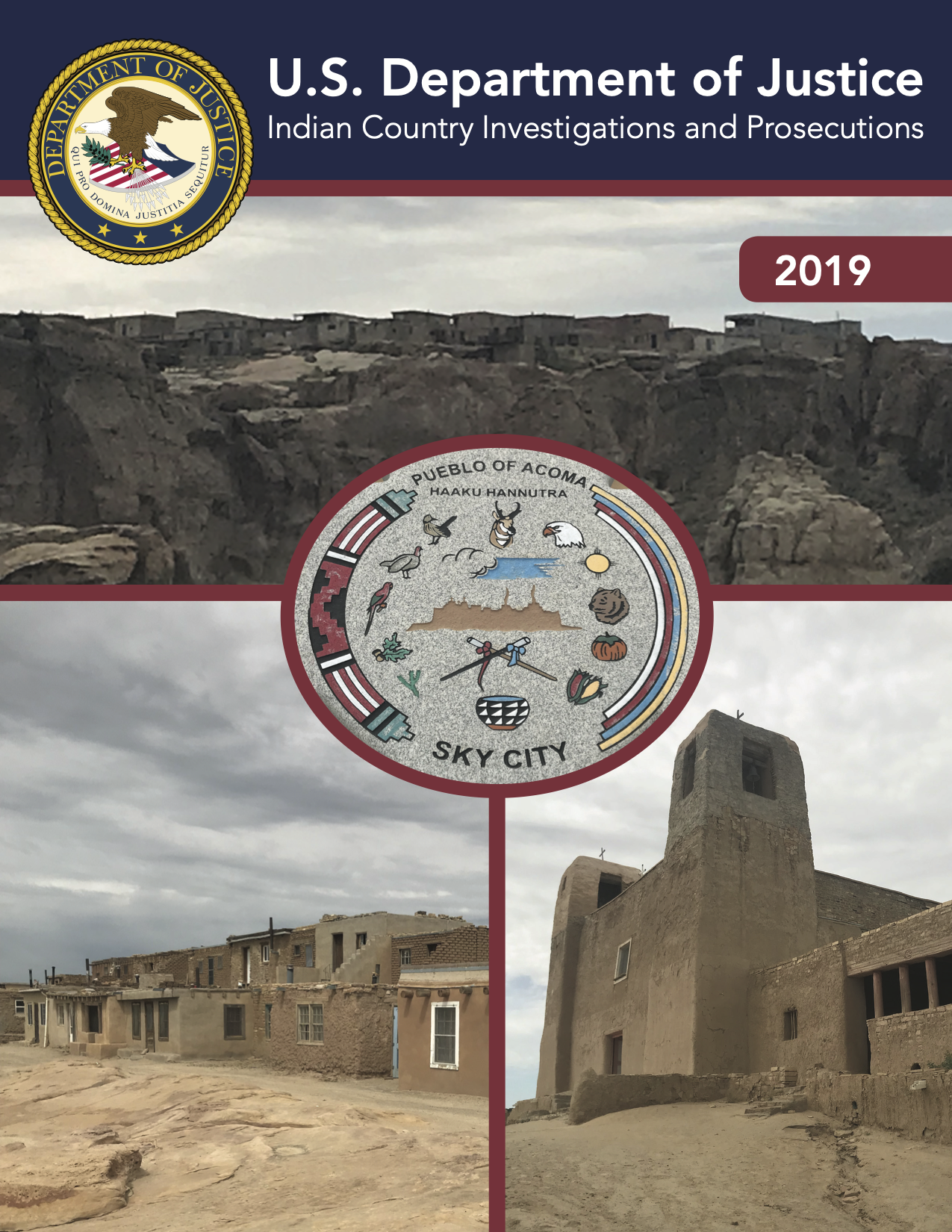 Indian Country Investigations and Prosecutions - Department of Justice