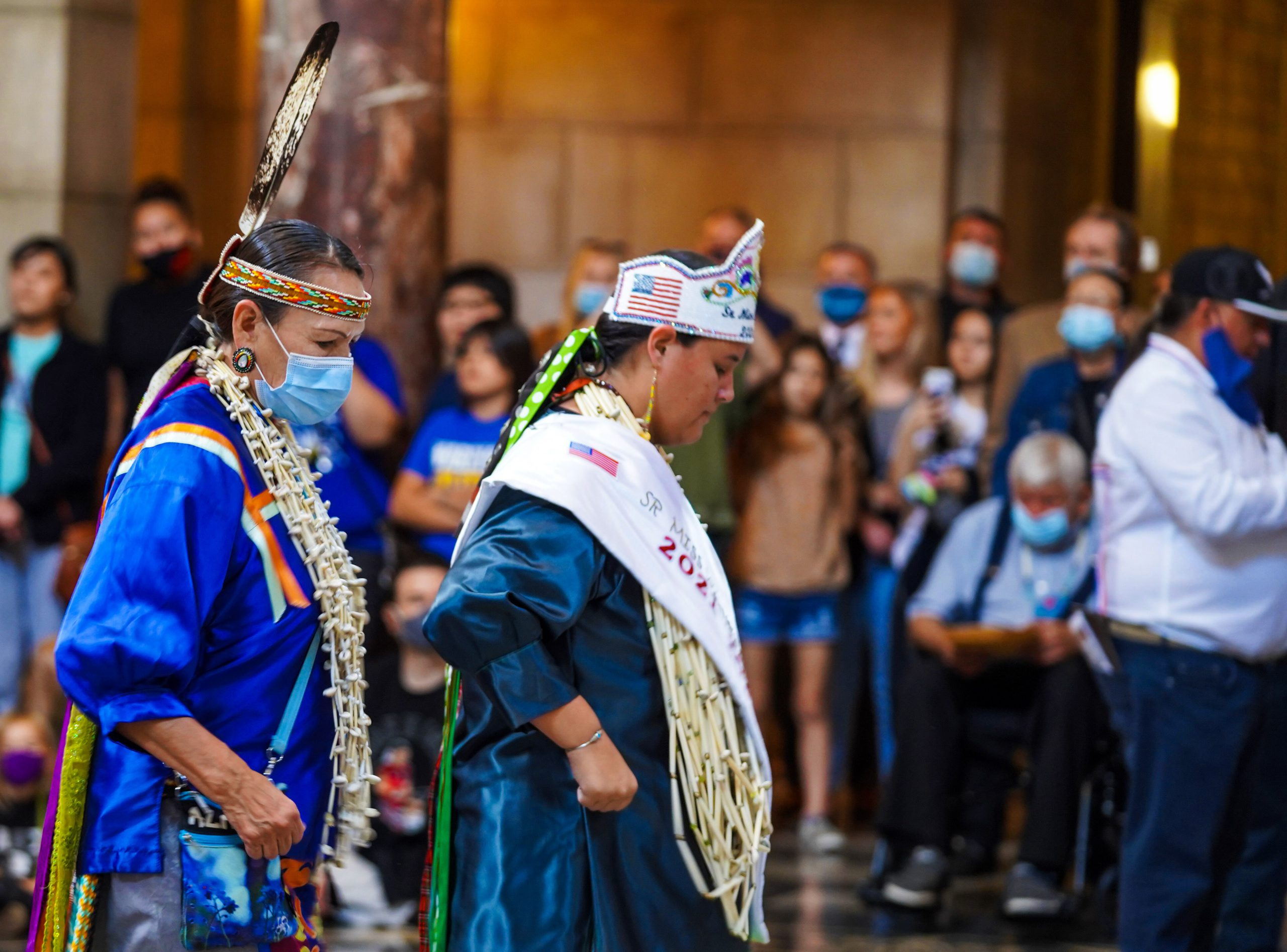 Indigenous Peoples Day Dancers