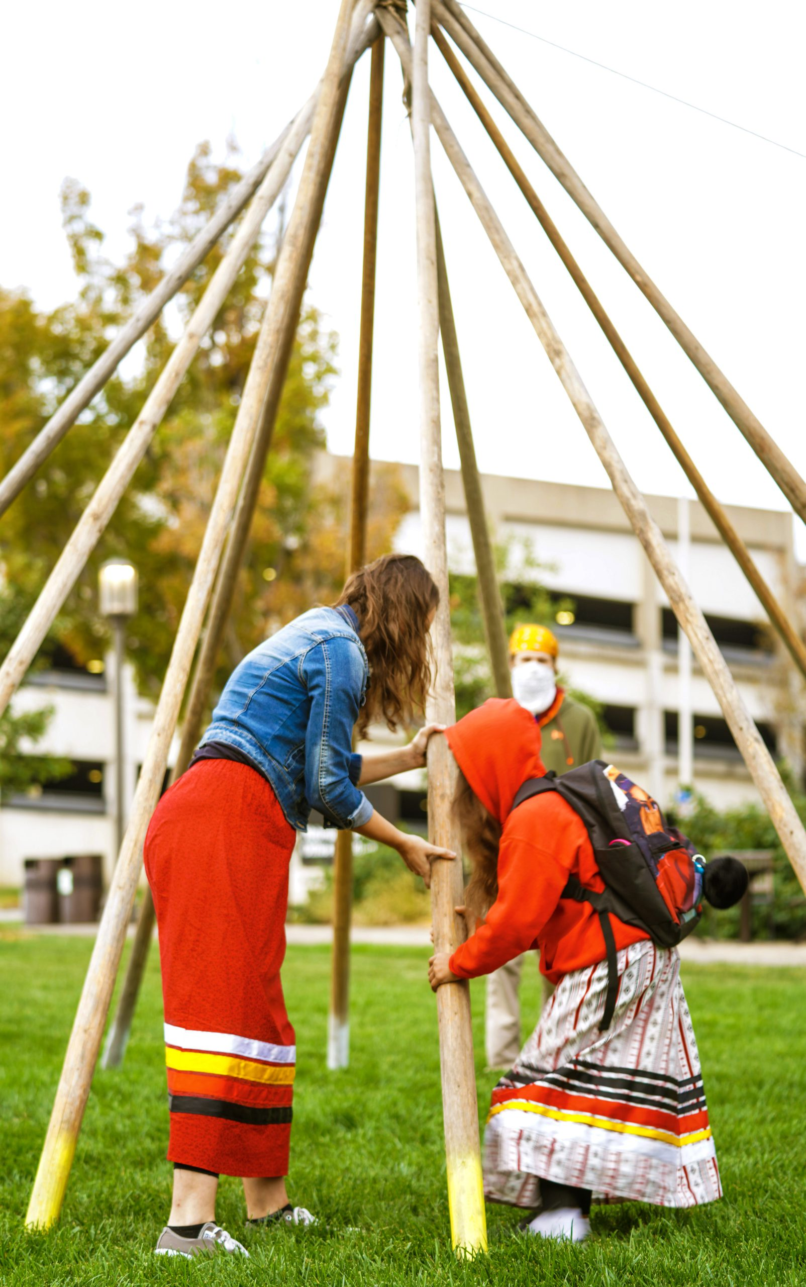 Indigenous Peoples Day Tipi