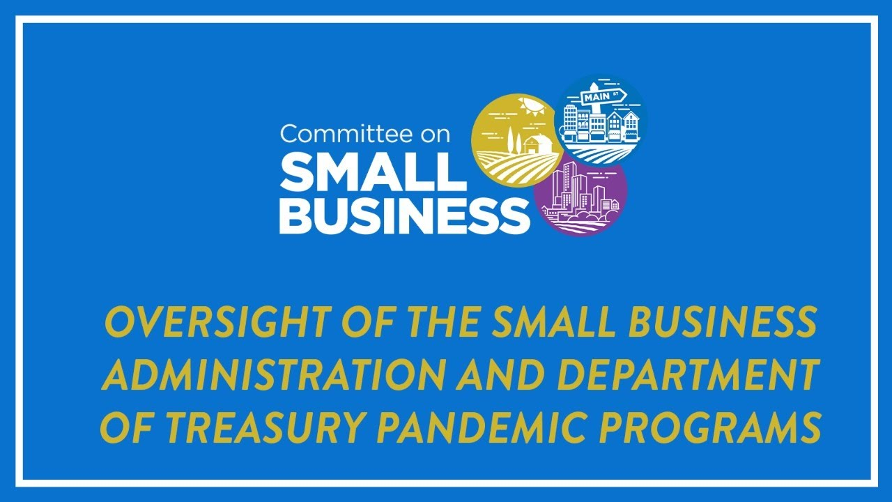 Oversight of the Small Business Administration and Department of Treasury Pandemic Programs