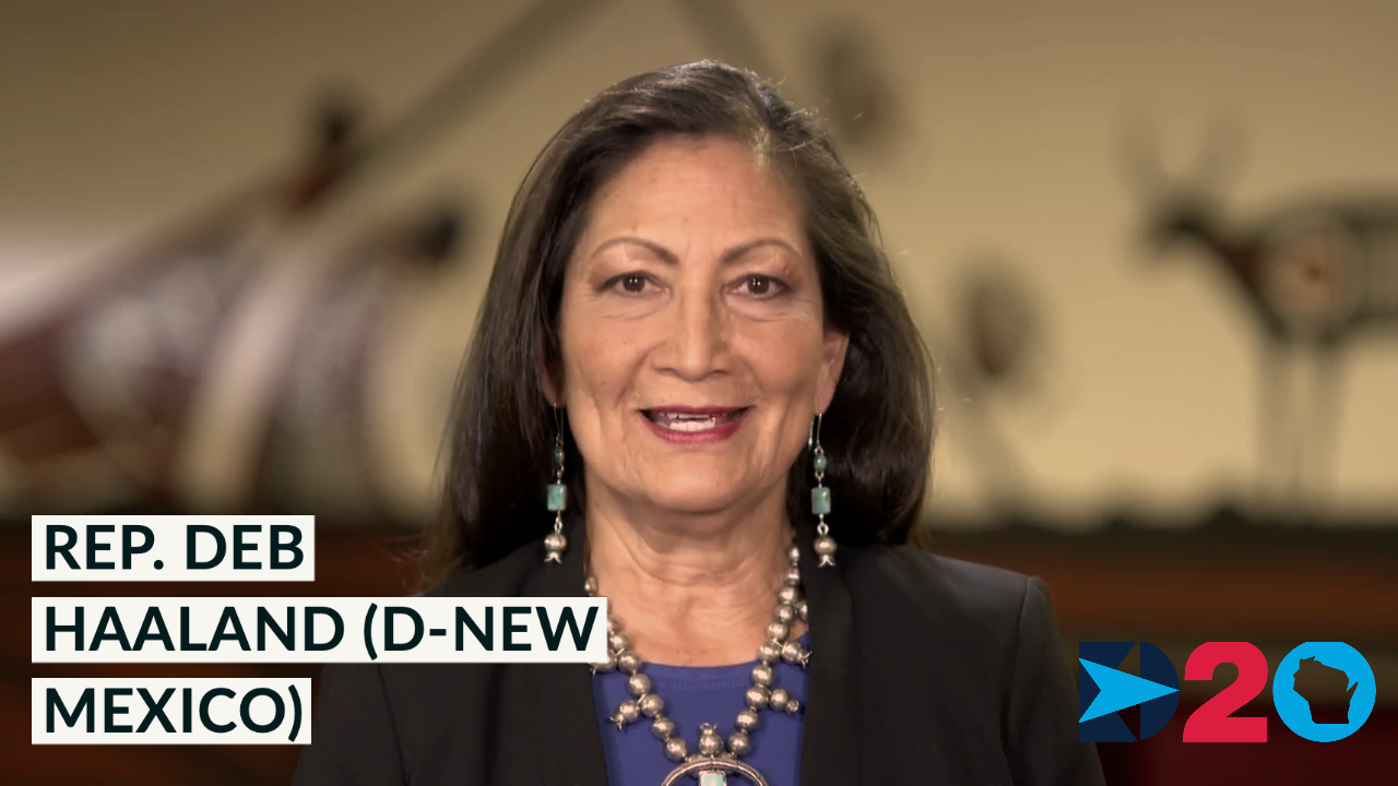 'I'm a symbol of our resilience': Rep. Deb Haaland (D-New Mexico) #DemConvention