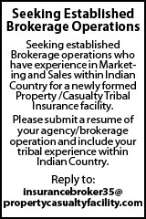 Insurance Broker in Indian Country