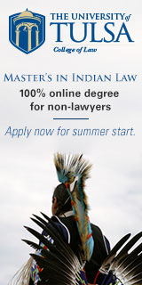 University of Tulsa Master's in Indian Law
