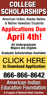 American Indian Education Foundation Scholarships