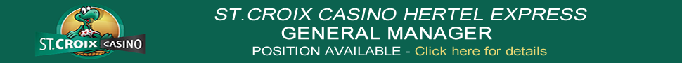 Job: General Manager - St. Croix Casino Hertel Express - Wisconsin