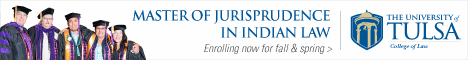 Master of Jurisprudence in Indian Law - University of Tulsa College of Law