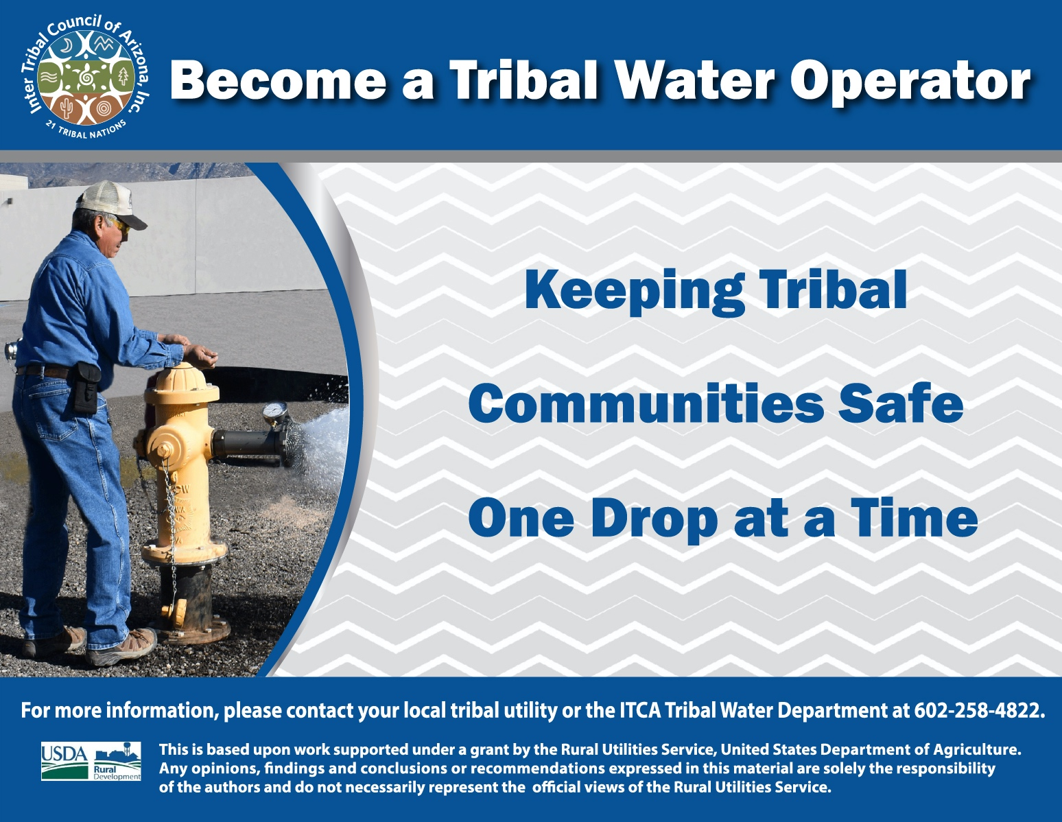 Become a Tribal Water Operator - InterTribal Council of Arizona
