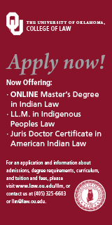 University of Oklahoma College of Law -- Indian law programs