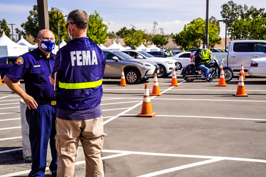 FEMA Supports California Vaccination Center